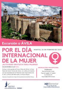 Excursión a Ávila por el 'Día Internacional de la Mujer' @ Ávila
