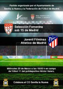 Partido de Fútbol Femenino @ Polideportivo 'Héctor Valero'