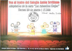 Teatro infantil 'Los Ratoncillos Ciegos' @ CEIP Antón Sevillano