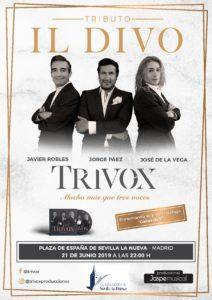 TRIVOX - Concierto Tributo IL DIVO @ Plaza de España