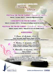 Festival de Fin de Curso EMMD - Escuela de Música y Danza @ Plaza de los Arcos