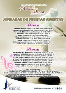 Jornadas de Puertas Abiertas EMMD @ Escuela Municipal de Música y Danza