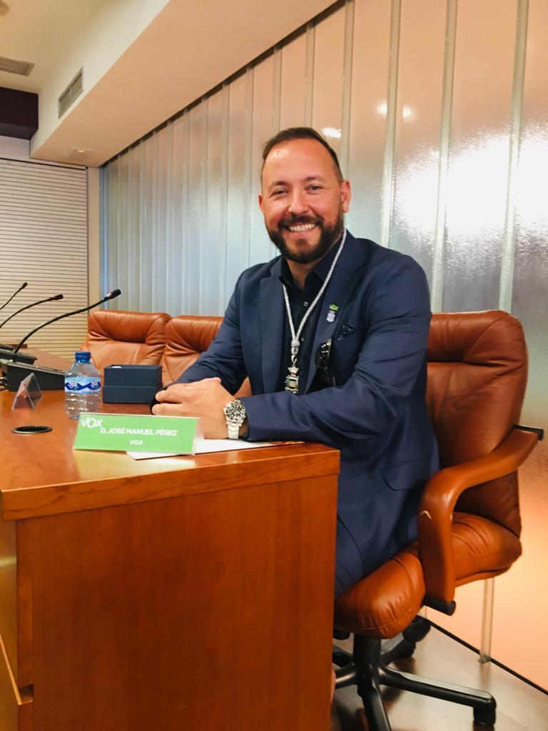 José Manuel Pérez (Portavoz)