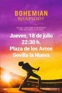 Bohemian Rhapsody - Cine de verano @ Plaza de los Arcos