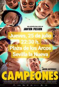 Campeones - Cine de verano @ Plaza de los Arcos