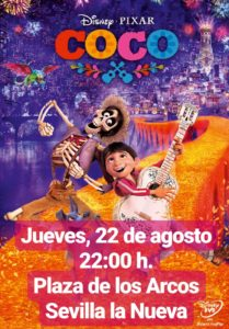 COCO - Cine de verano @ Plaza de los Arcos