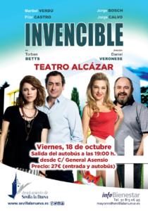 Invencible - Teatro Alcázar @ Teatro Cofidis Alcázar