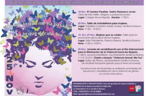 Día Internacional para la eliminación de la Violencia hacias las Mujeres @ Ayuntamiento Sevilla la Nueva