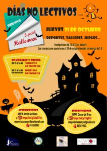 Especial Halloween - Días no lectivos @ Sevilla la Nueva
