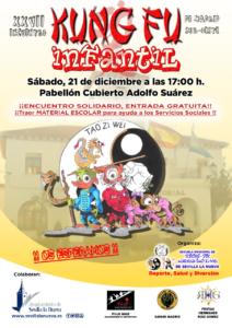 XVII Encuentro Infantil Kung Fu @ Pabellón 'Adolfo Suárez'