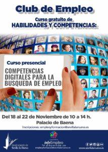 Curso Competencias Digitales para la Búsqueda de Empleo @ Palacio de Baena