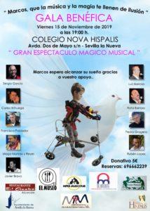 Gala benéfica con espéctaculo mágico musical @ Colegio Nova Hispalis