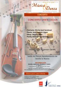 Concierto Santa Cecilia @ Salón de Plenos Ayuntamiento Sevilla la Nueva