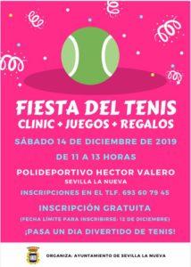Torneo de Tenis. @ Polideportivo Héctor Valero