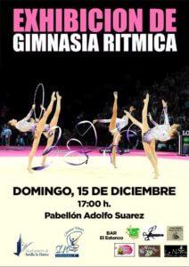 Exhibión de gimnasia rítmica @ Pabellón Adolfo Suárez