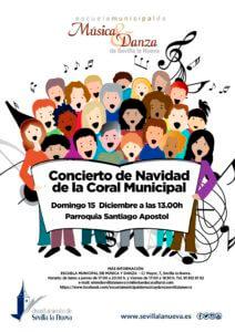 Concierto de Navidad de la Coral Municipal. @ Parroquia Santiago Apóstol