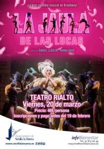 """Comedia musical """"La Jaula de las Locas"""" @ C/ General Asensio"""