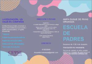 Escuela de Padres AMPA Duque de Rivas @ Colegio Duque de Rivas