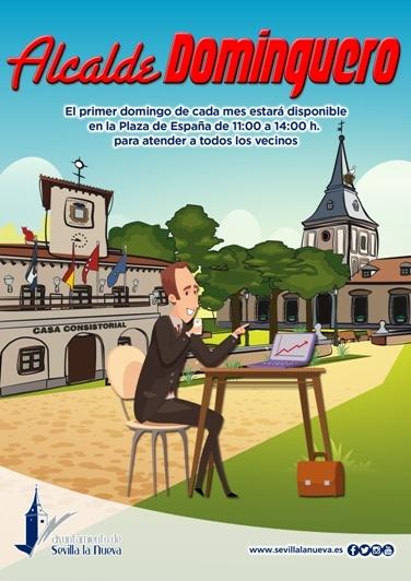 Alcalde dominguero @ Plaza de España