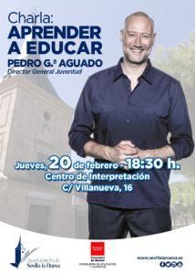 """Charla """"Aprender a Educar"""" de Pedro Gª Aguado @ Urbanización de Mayores"""