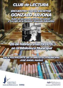 Encuentro con el escritor Gonzalo Arjona @ Biblioteca Mucipal
