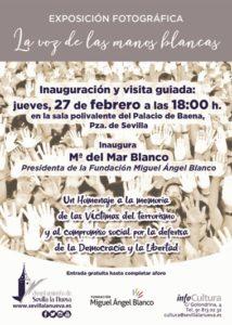 """Exposición fotográfica """"La Voz de las Manos Blancas"""" @ Sala Polivalente Palacio de Baena"""