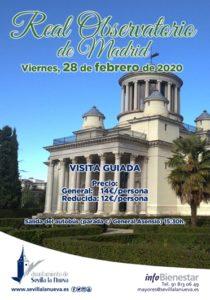 Visita guiada Real Observatorio de Madrid @ Parada General Asensio