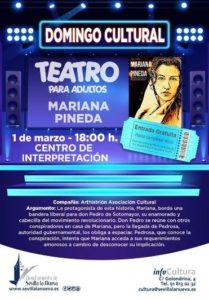 """Teatro Domingo Cultural """"Mariana Pineda"""" @ Centro de Interpretación"""