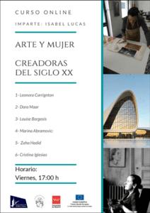 """Curso online """"Arte y Mujer"""""""