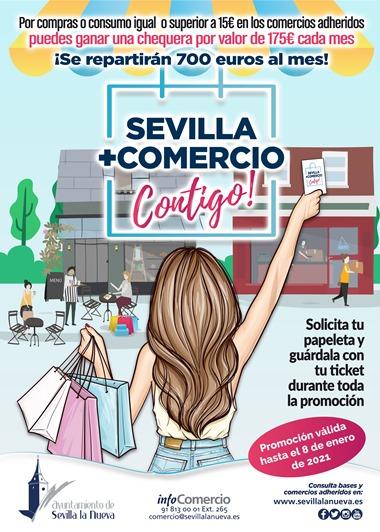 Sorteo Sevilla + Comercio Contigo!