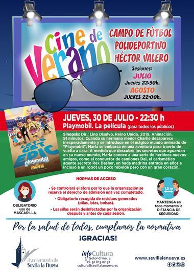 "Cine ""Playmobil: La Película"" @ Campo fútbol Polideportivo Héctor Valero"