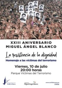Homenaje a las víctimas del terrorismo @ Parque Víctimas del Terrorismo