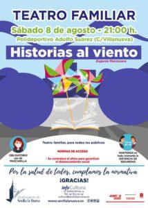 "Teatro Familiar ""Historias al viento"" @ Pabellón Cubierto Adolfo Suárez"