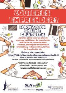 Jornadas online de emprendimiento @ Zoom http://bit.ly/JornadasEmprendimientoSLN