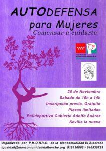 Taller de autodefensa para mujeres @ Pabellón Cubierto Adolfo Suárez