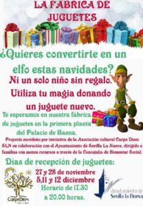 "Recogida de juguetes ""La fábrica de juguetes"" @ 1ª Planta Palacio de Baena"
