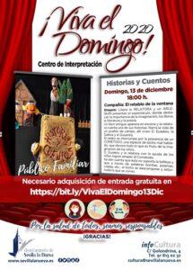 """¡Viva el domingo! """"Historias y Cuentos"""" @ Centro de Interpretación"""
