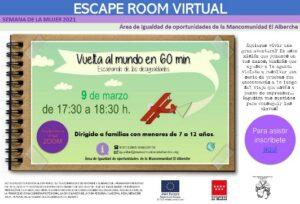 """Escape Room Virtual """"Escapando de las desigualdades"""""""