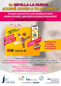 """Campaña """"El Carnet Joven a tu alcance"""" @ IES Sevilla la Nueva / Colegio Nova Hispalis"""